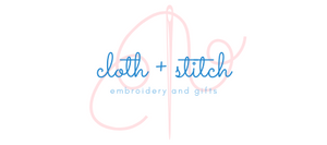 Shop Cloth & Stitch