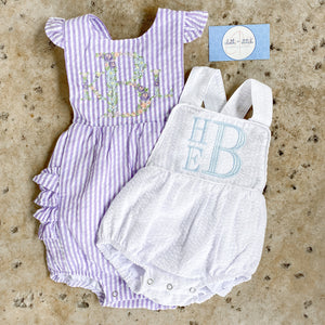Girl's Ruffle Bottom Sunsuit