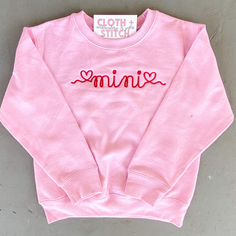 """Mini"" Sweatshirt"