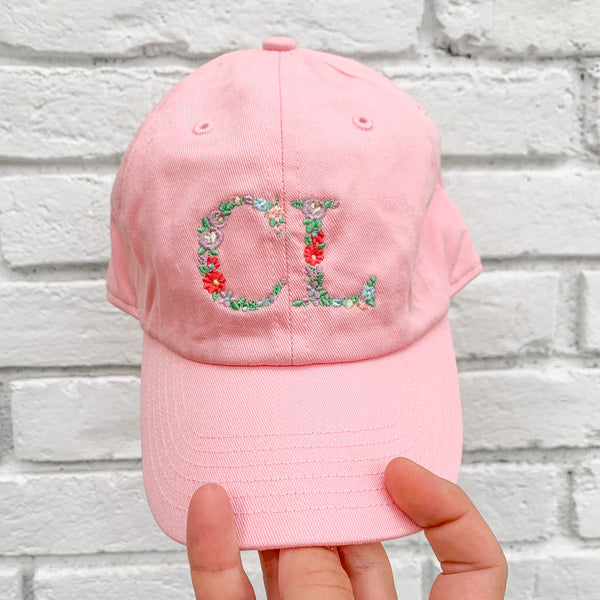 Personalized Toddler Baseball Cap