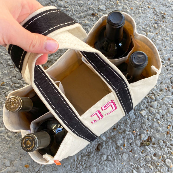 Four Bottle Wine Carrier