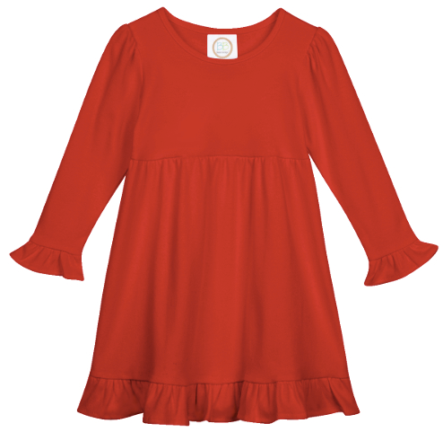 *PREORDER* Child Christmas Nightgown - Red