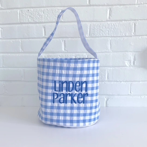 Gingham Easter Buckets Pre-Order (limited quantities)