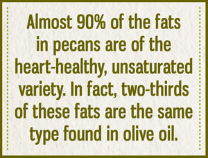 Pecans are heart-healthy