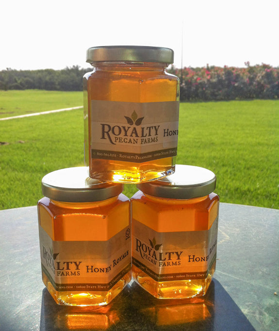 Natural Honey from Royalty Pecan Farms