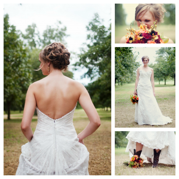 Wedding Photo Shoot by Shauna Maness taken at Royalty Pecan Farms.