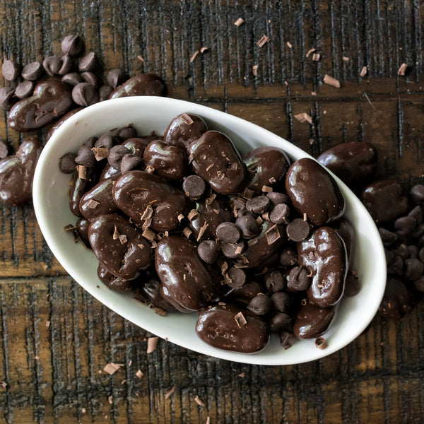 Dark Chocolate Covered Pecans