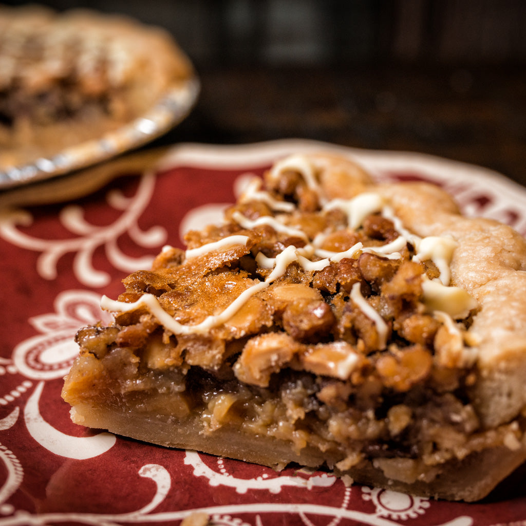 White Chocolate Pecan Pie