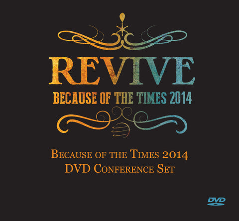 Because of the Times 2014 DVD/CD Set