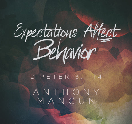 Expectations Affect Behavior by Anthony Mangun