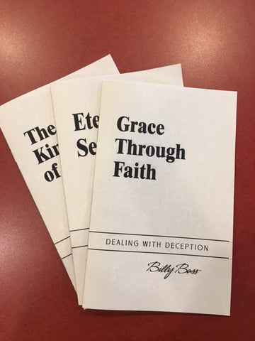 Grace Through Faith by Billy Bass