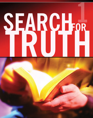 Search For Truth #1 Teacher's Manual