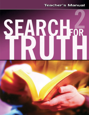 Search For Truth #2 Teacher's Manual