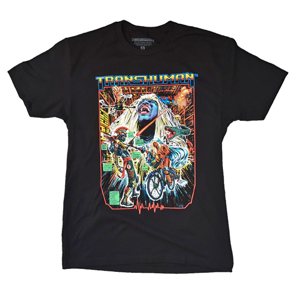 Transhuman Bike Warrior - Tee