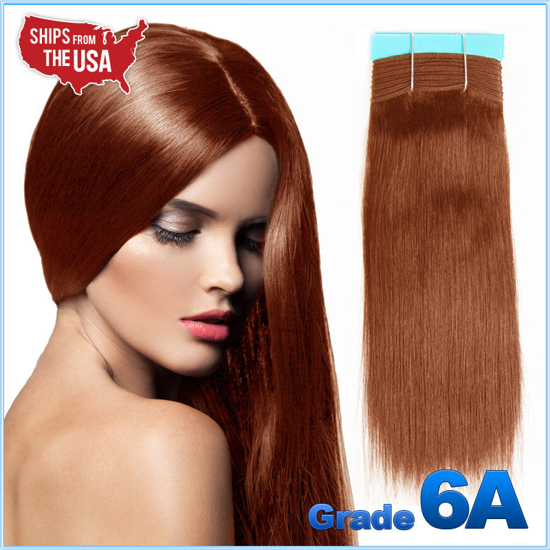 Grade 6a 30auburn yaki weaving 100 remy human hair grade 6a 30auburn yaki weaving 100 remy human hair straight costhair pmusecretfo Images