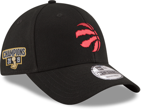 TORONTO RAPTORS NEW ERA MEN'S 2019 NBA CHAMPS 940 PATCH ADJUSTABLE HAT