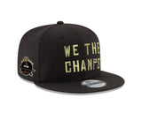 Men's Toronto Raptors New Era We The Champs 2019 NBA Champions Side Patch 9FIFTY Snapback Adjustable Hat