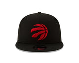 Men's Toronto Raptors New Era Black/Red 2019 NBA Champions Side Patch 9FIFTY Snapback Adjustable Hat