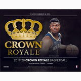 2019-20 Panini Crown Royale Basketball Hobby Box