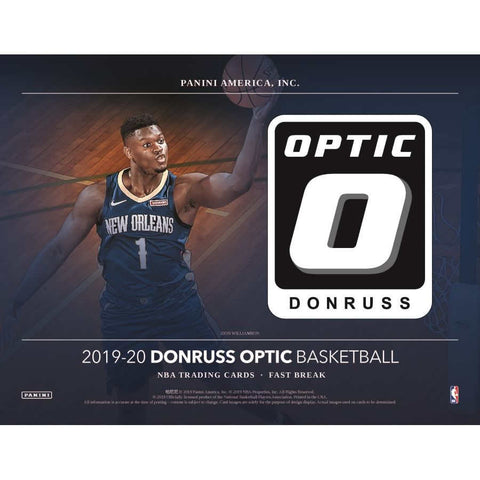 2019-20 Panini Optic Basketball Fast Break Box