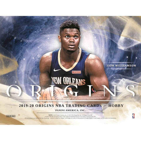 2019-20 Panini Origins Basketball Hobby Box