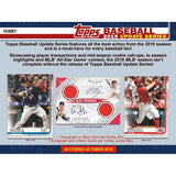 2019 Topps Update Baseball Jumbo box