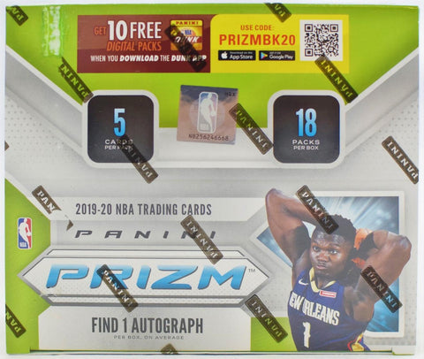 2019-20 Panini Prizm Basketball Fastbreak Box