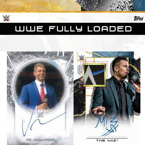 2020 Topps Fully Loaded WWE Hobby Box