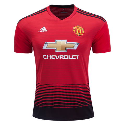 Manchester United 2018 Adidas home jersey - Red