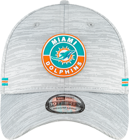 Miami Dolphins 2020 New Era On Field 39Thirty Flex Fit Cap