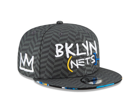 BROOKLYN NETS NEW ERA MEN'S CITY EDITION SNAPBACK