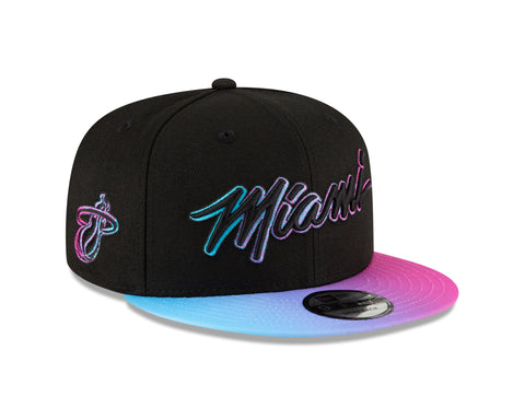 MIAMI HEAT NEW ERA MEN'S CITY EDITION SNAPBACK