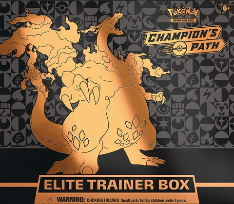 The Pokémon TCG: Champion's Path Elite Trainer Box