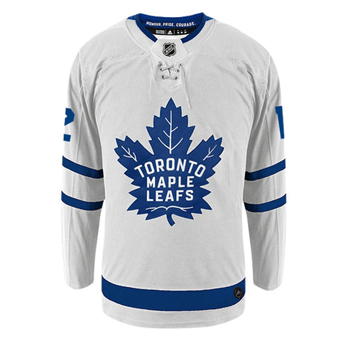 outlet store 7bad3 360db Patrick Marleau Toronto Maple Leafs Adidas White Away Jersey
