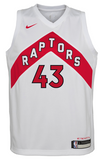 Men's 2020/21 Toronto Raptors Pascal Siakam Nike White Association Swingman Jersey