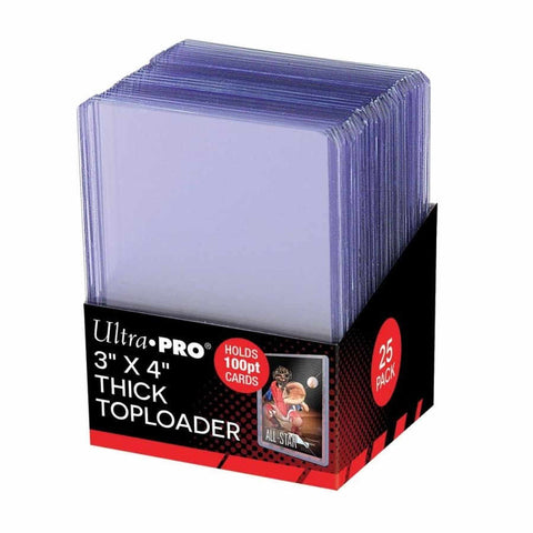 ULTRA PRO: TOPLOADER - 3X4 100 POINT