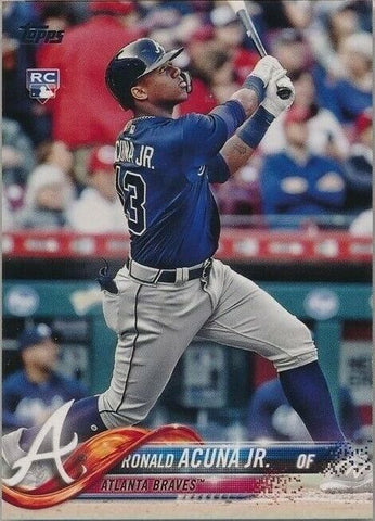 Ronald Acuna Jr. 2018 Topps Update RC