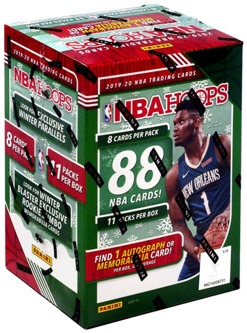 2019-20 Panini Hoops Holiday Blaster Box