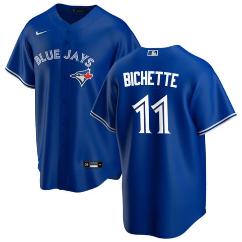 Bo Bichette Toronto Blue Jays Mens Nike Replica Alternate Blue Jersey