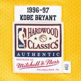 Kobe Bryant Los Angeles Lakers Mitchell & Ness Yellow 1996-97 Hardwood Classics Authentic Jersey