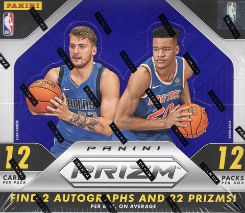 2018-19 Panini Prizm Basketball Hobby Box