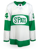 Auston Matthews Toronto St. Pats Adidas White Alternate Jersey