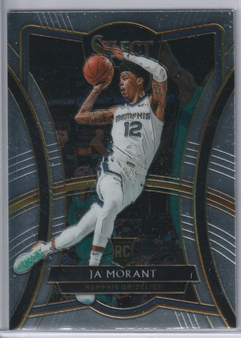 Ja Morant 2019-20 Panini Select Premier Level RC
