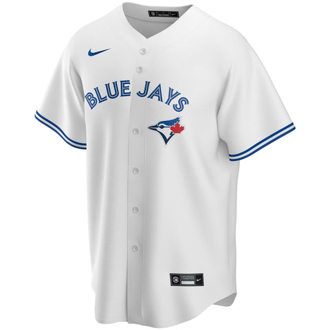 Toronto Blue Jays Mens Nike Replica Home White Jersey