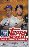 2019 Topps Update Baseball Hobby box