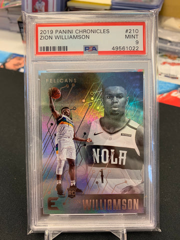 Zion Williamson 2019-20 Panini Chronicles Essentials PSA 9 MINT
