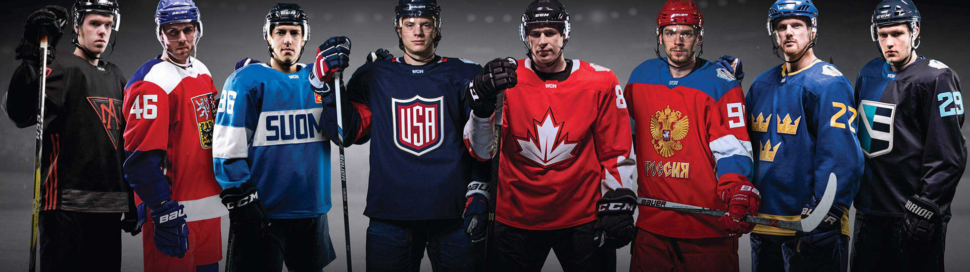 World Cup of Hockey Jerseys