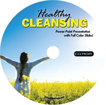 Healthy Cleansing CD-ROM Powerpoint