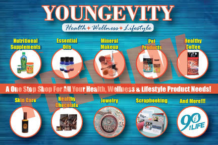 {$0.99} Download Only: Youngevity One Stop Shop Postcard PDF