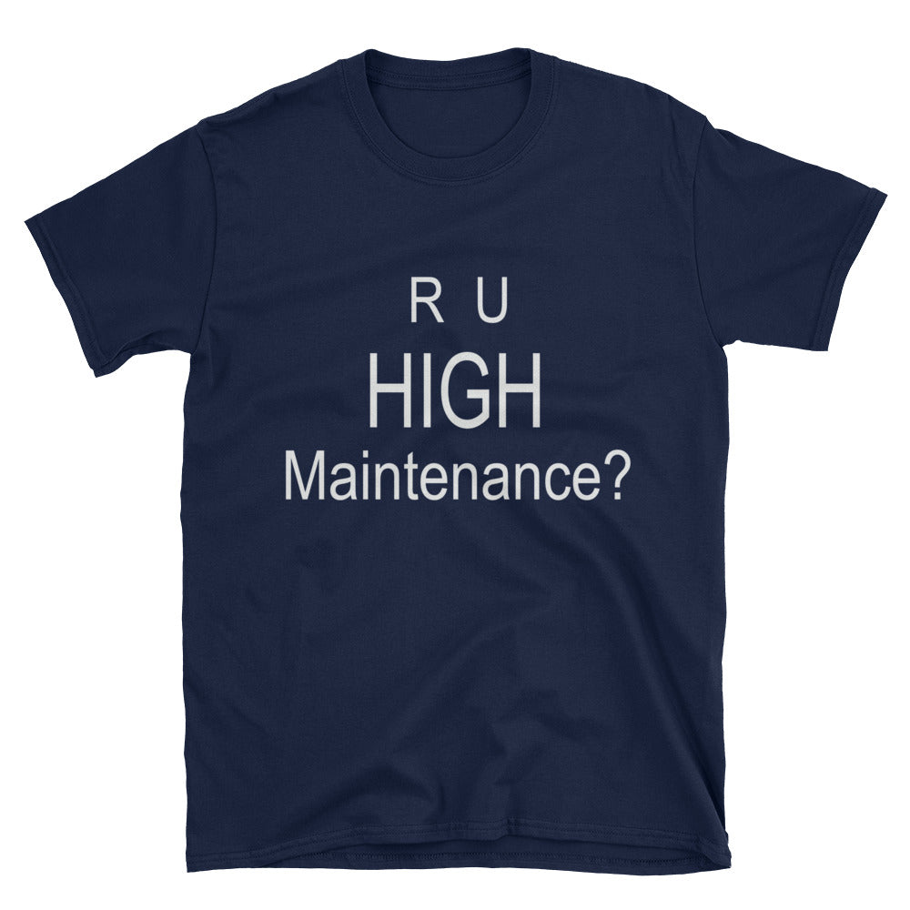 R U Maintenance unisex t-shirt